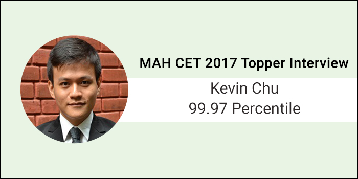 MAH CET 2017 Topper Interview: MAH CET is about solving quickly and moving on quickly, says 99.97 Percentiler