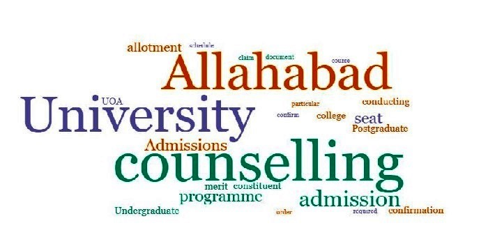 Allahabad University Counselling 2018
