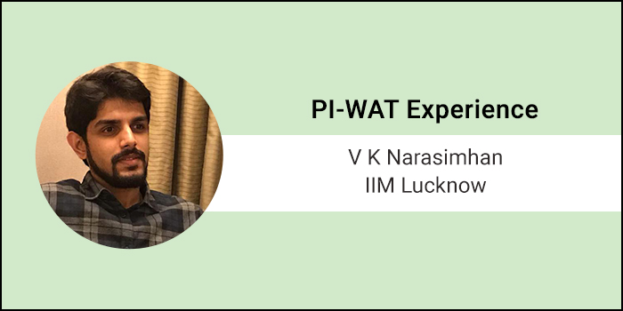 How to crack PI-WAT: Time management is a byproduct of practice, doesn't need to be deliberately planned, says VK Narsimhan of IIM Lucknow