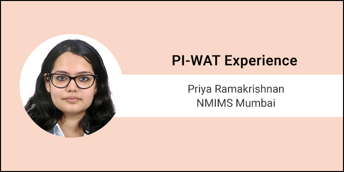 How to crack PI-WAT: It is very important to prepare for general questions, says Priya Ramakrishnan of NMIMS, Mumbai