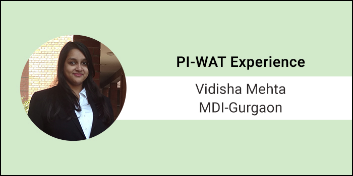 "How to crack GD-PI-WAT: The GD Session was an Adrenaline rush"", Says Vidisha Mehta of MDI Gurgaon"