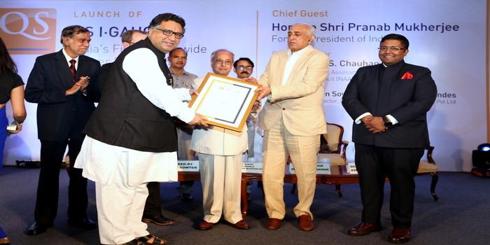 Banasthali Vidyapith awarded Diamond Rating by QS I-Gauge