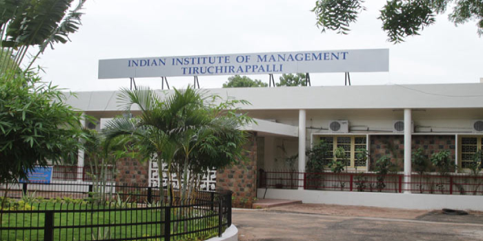 IIM Trichy Final Placements 2016-18: Average Salary increased by 7.4 percent