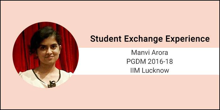 Student Exchange Experience: IIM Lucknow has a case-based standard pedagogy, but at Emlyon it is very flexible, says Manvi Arora