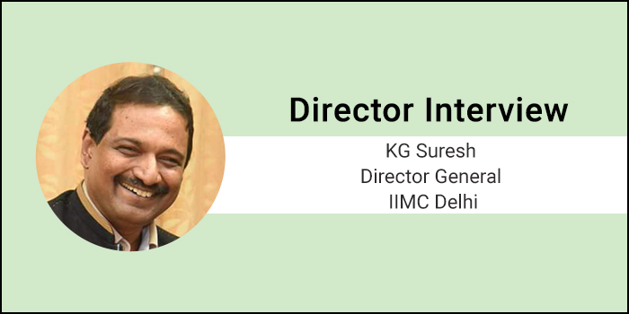 """IIMC Director General Interview- """"We have the expertise, experience and can fulfill the Expectation,"""" says DG of IIMC KG Suresh"""