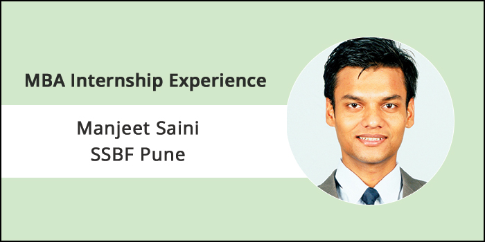 MBA Internship Experience 2018: Practical exposure at RBI added value to my learnings received at SSBF, says Manjeet Saini
