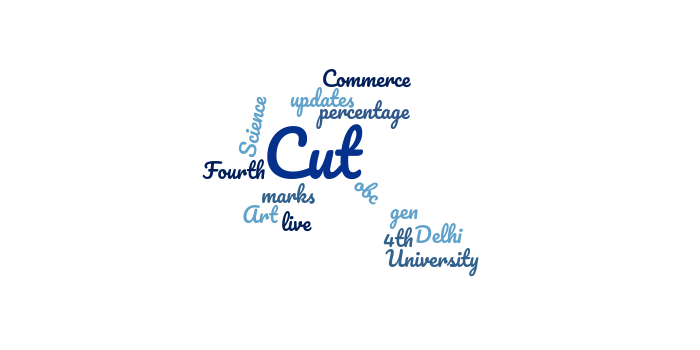Delhi University (DU) Fourth Cut off 2018 Released: Live Updates