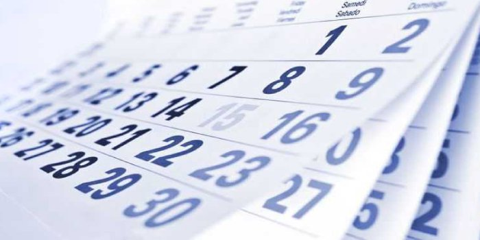 CCMN Important Dates 2019