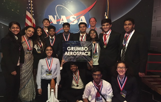 "DPS RK Puram wins ""International Space Settlement Design Competition"" in NASA"