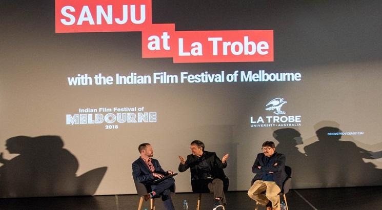 Rajkumar Hirani, Abhijat Joshi interact with La Trobe community