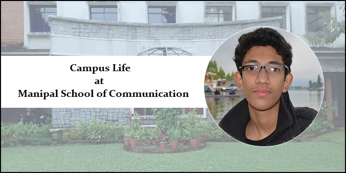 Campus life at Manipal School of Communication