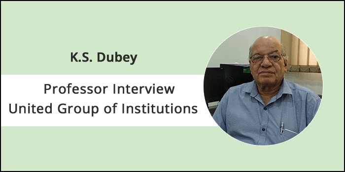 Interview with UGI Professor K.S. Dubey