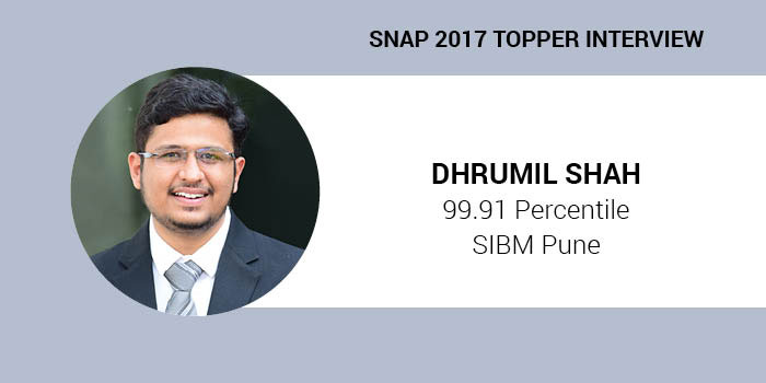 SNAP 2017 Topper Interview: Regular revision of concepts helps in memorising them, says 99.91 percentiler Dhru
