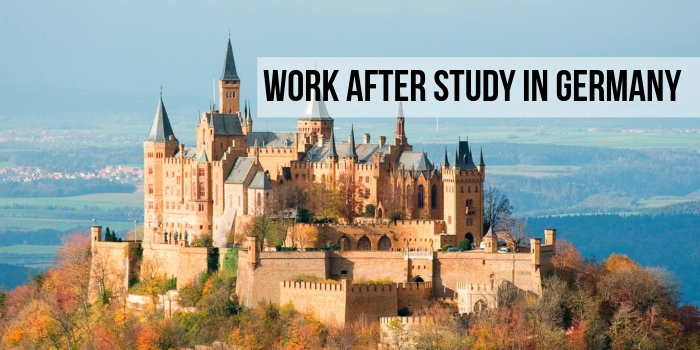 Work after Study in Germany