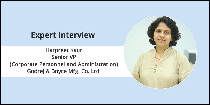 """Engineering graduates are not really job ready and it is a combination of many factors"" says, Harpreet Kaur, Senior VP and Head, Godrej & Boyce Mfg. Co. Ltd."
