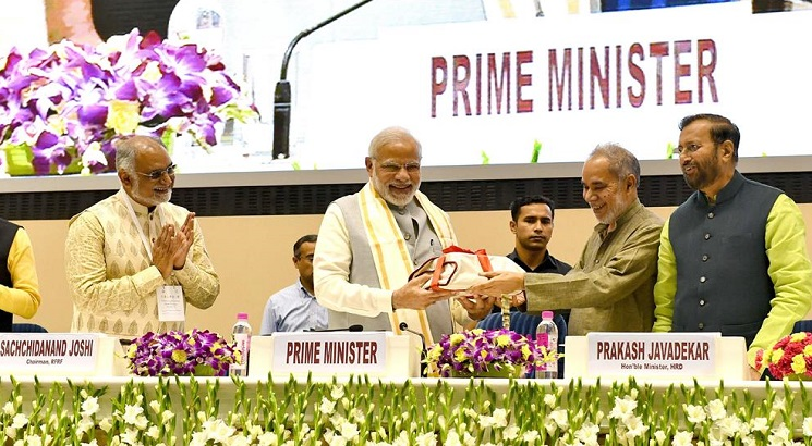 Prime Minister asks VCs to set goals to be fulfilled during tenure