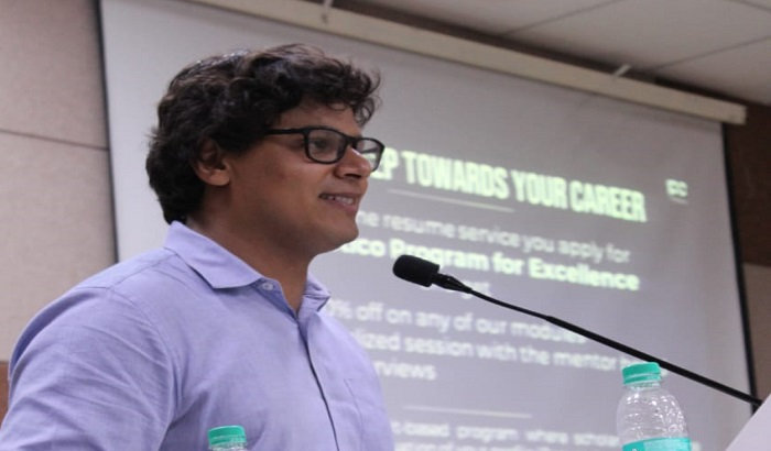 Perspectico and Rajdhani College organizes a session on 'how to crack interviews'
