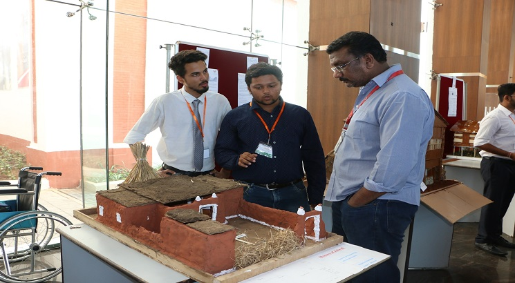 """MEC organizes Niketh: A Traditional Housing Challenge for Civil Engineering Students"""""""