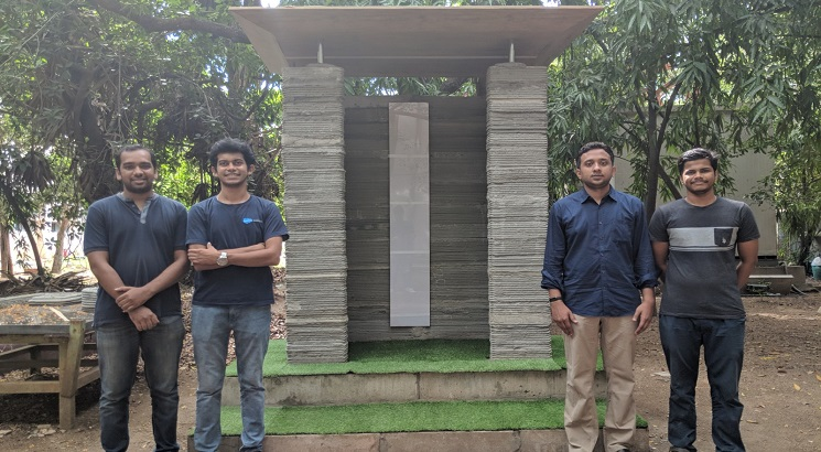 IIT Madras faculty & alumni develop India's first 3D Printing construction technology