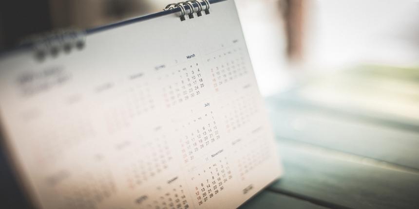 TNEA Important Dates 2019