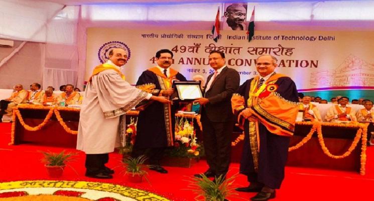 IIT Delhi Confers Distinguished Alumnus Award 2018 on Sumant Sinha
