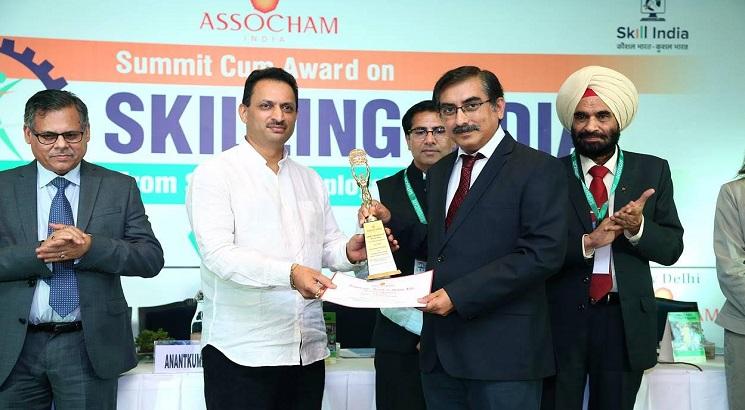 """ASSOCHAM honours Frankfinn with """"Best Higher Vocational Institute for Skill Development – 2018 Award"""