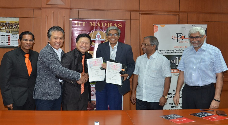 Japanese firms to set up Joint Research Centre at IIT Madras