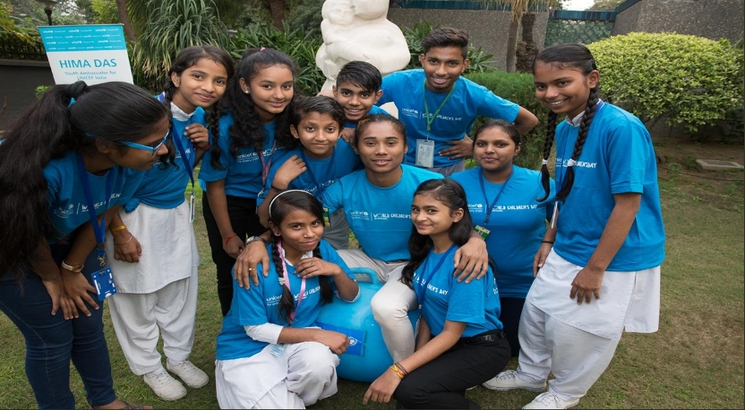 Athlete Hima Das appointed as first youth ambassador of UNICEF India
