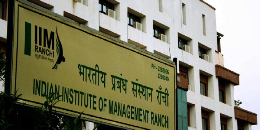 IIM Ranchi fees
