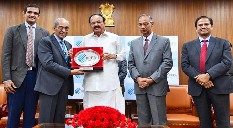 Vice-President of India launches Krea University