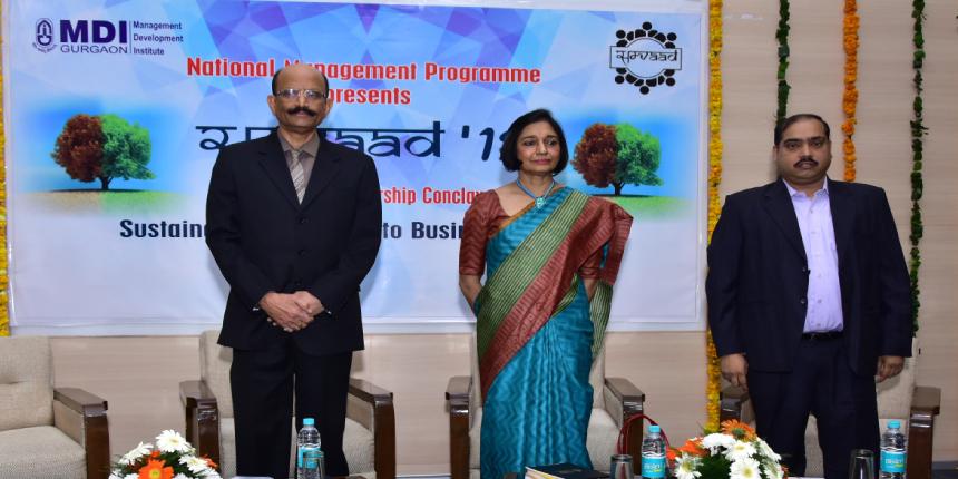 "MDI Gurgaon hosts 4th annual Leadership Conclave ""Samvaad 2018"""