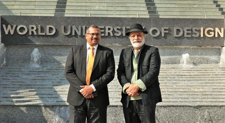 World University of Design honours Prof. Iftikhar-Mulk Chishti on National Design Guru Day