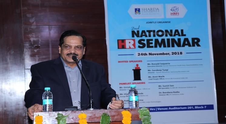National Human Resource Seminar organized by Sharda University