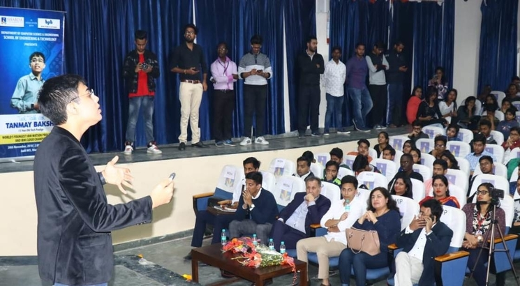Machine Learning is changing the way we learn: 15-year old tech prodigy at Sharda University
