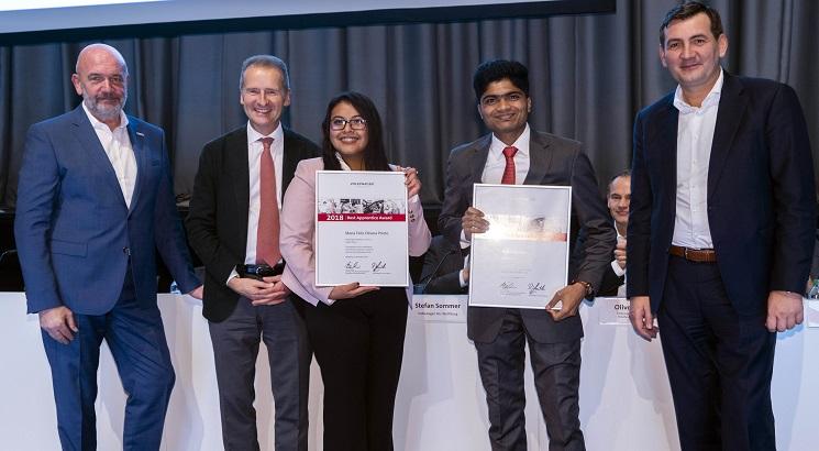 Maharashtra boy wins Volkswagen Best Apprentice Awards 2018