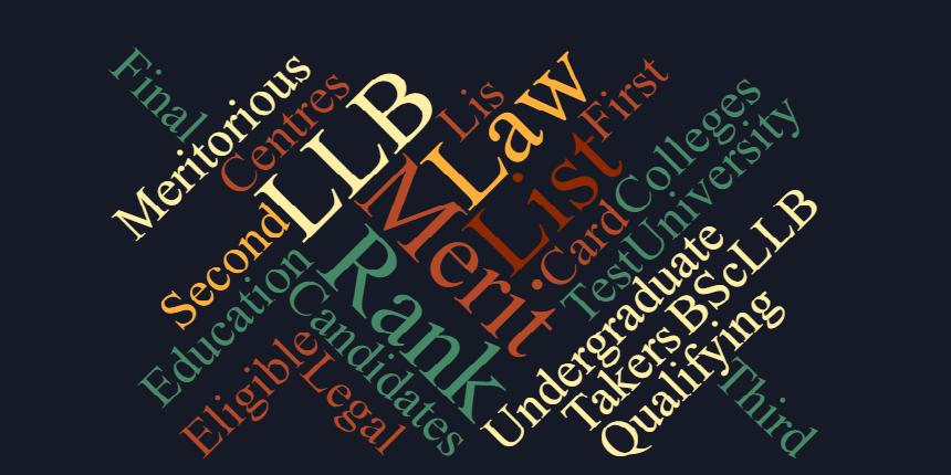 DU LLB Merit List 2020
