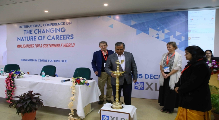 International Conference on 'Changing Nature of Careers' at XLRI