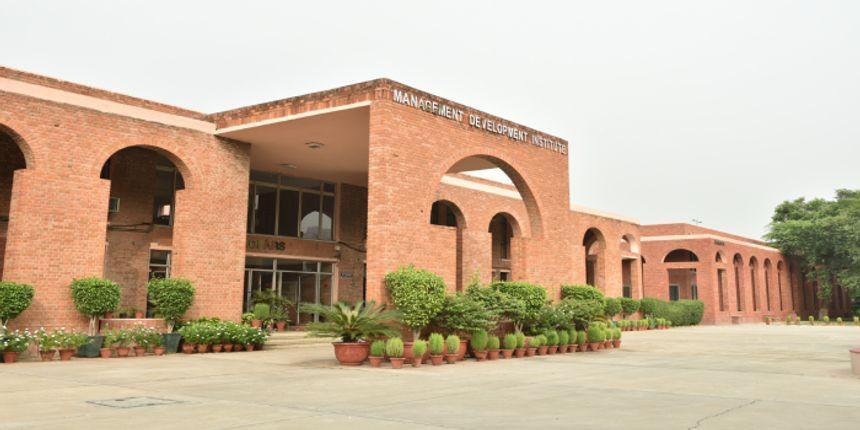 MDI Gurgaon Admission 2020