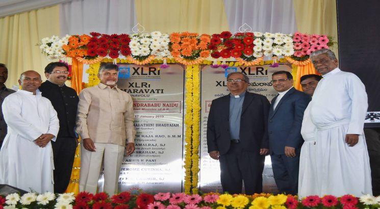 XLRI lays foundation stone for new campus in Amravati