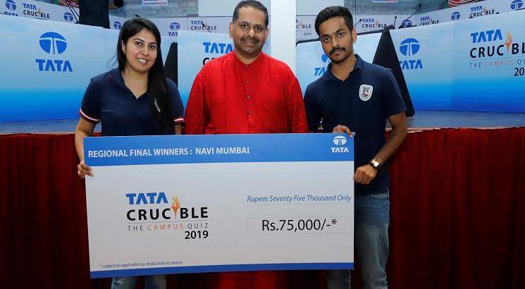 NMIMS team wins Navi Mumbai edition of Tata Crucible Campus Quiz 2019