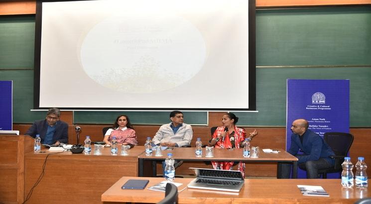 Creative & Cultural Businesses Programme culminates at IIMA