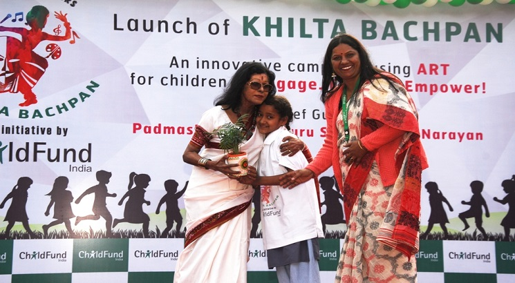 """ChildFund India launches ART in Childhood campaign """"Khilta Bachpan"""""""