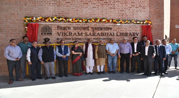 Restored Vikram Sarabhai Library inaugurated at IIMA