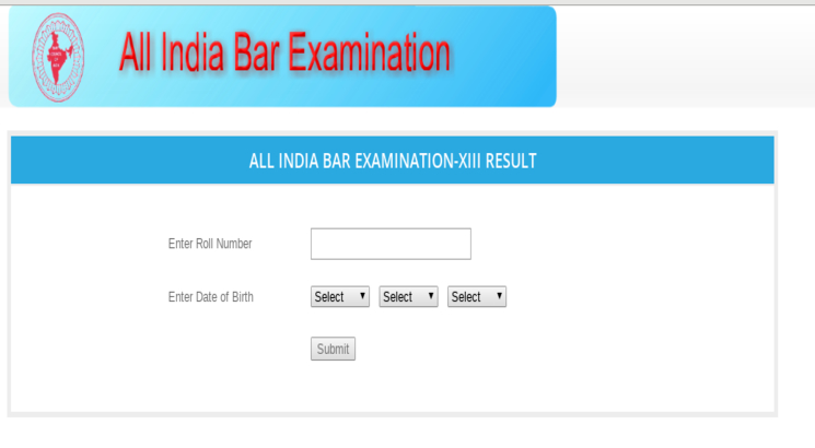 AIBE XIII (13) 2019 Result out; Know how to check