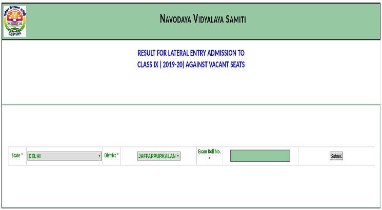 JNVST class 9 result 2019 released; check here steps to download