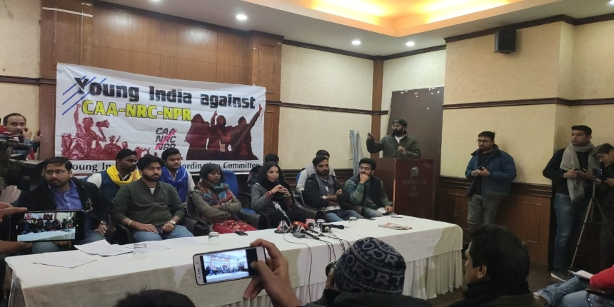 Over 50 student organisations form 'Young India Committee' against CAA