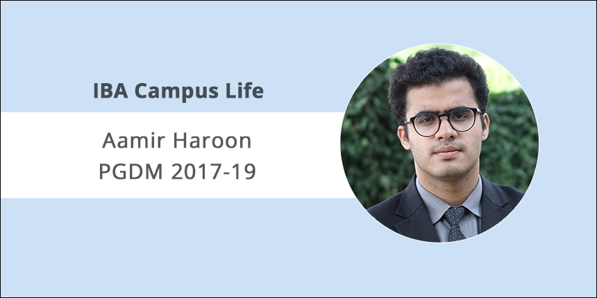 IBA Campus Life: Relate interview questions with your real life experience, says Aamir Haroon, PGDM