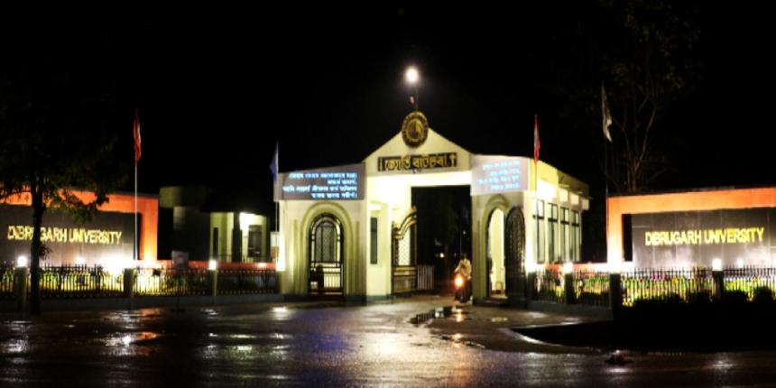 Dibrugarh University MBA Admission