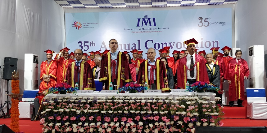 IMI New Delhi awards diplomas to 349 students on 35th Annual Convocation