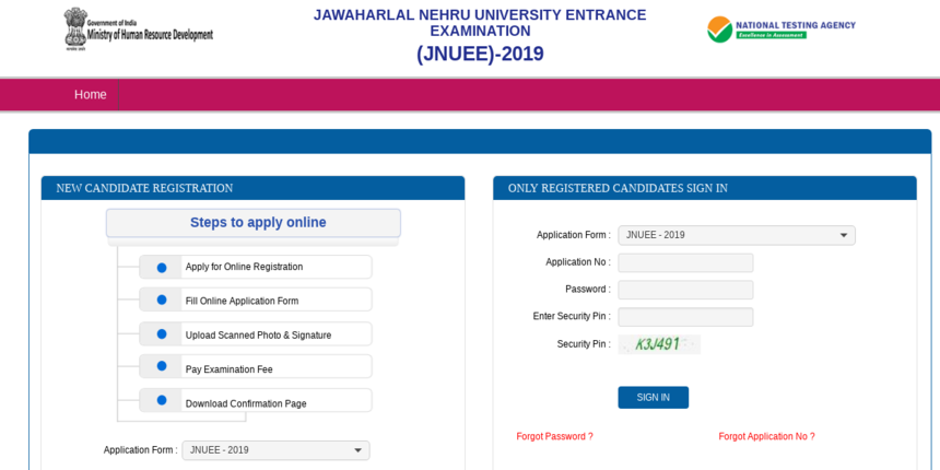 JNU Admissions 2019: Last date for applications submission today; correction window to open on April 22